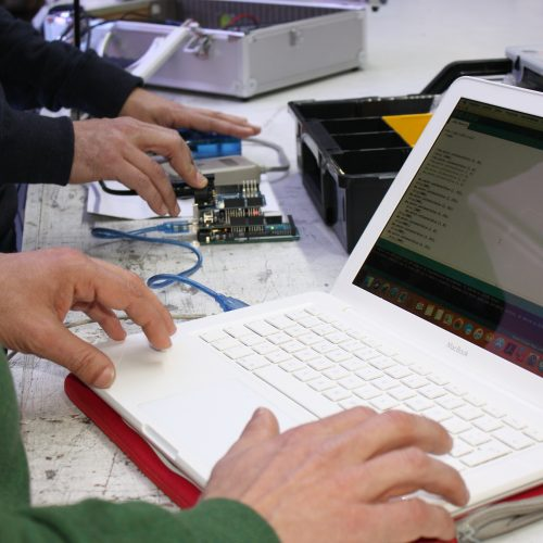 programación apps domotica fiberlight