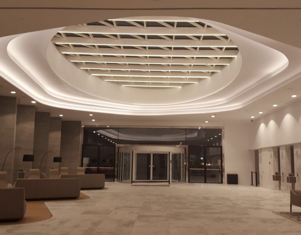 iluminación hotel
