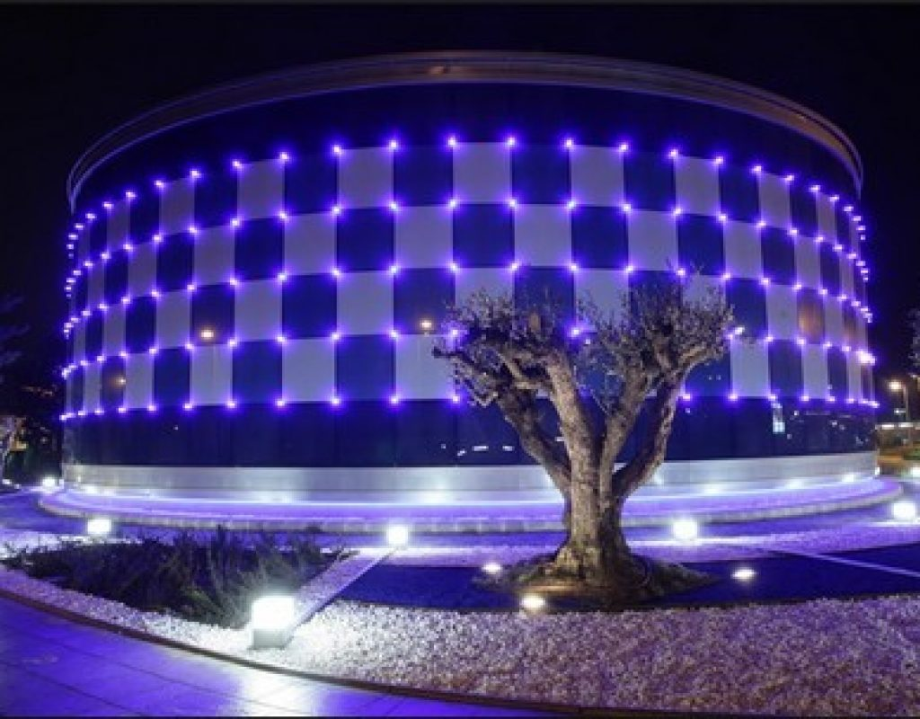 Iluminación exterior casino de torrelodones sala